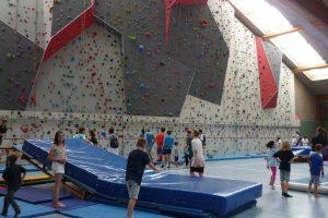 Kletter- und Turnhalle