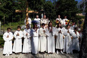 Bischof Leichtfried feiert mit dem Sacré Coeur